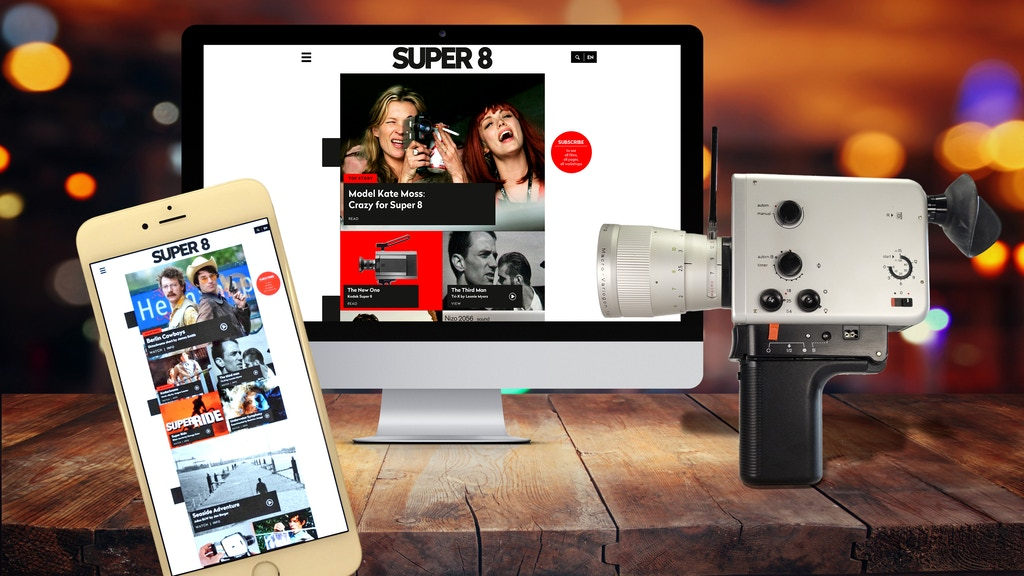 The Super 8 Web Portal project video thumbnail