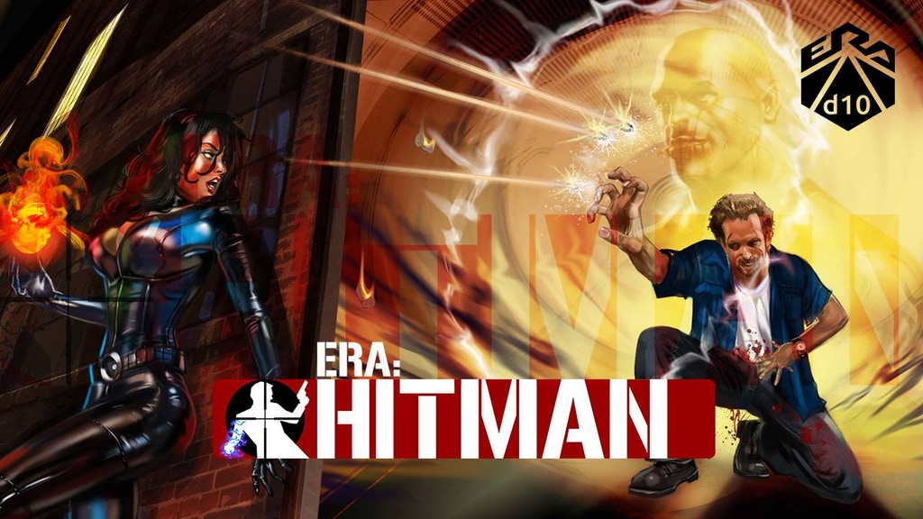 Be a super-powered assassin - Era: Hitman, now in Paperback! project video thumbnail