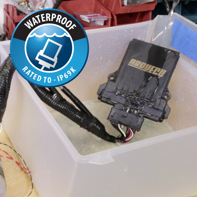 ArduECU is Waterproof