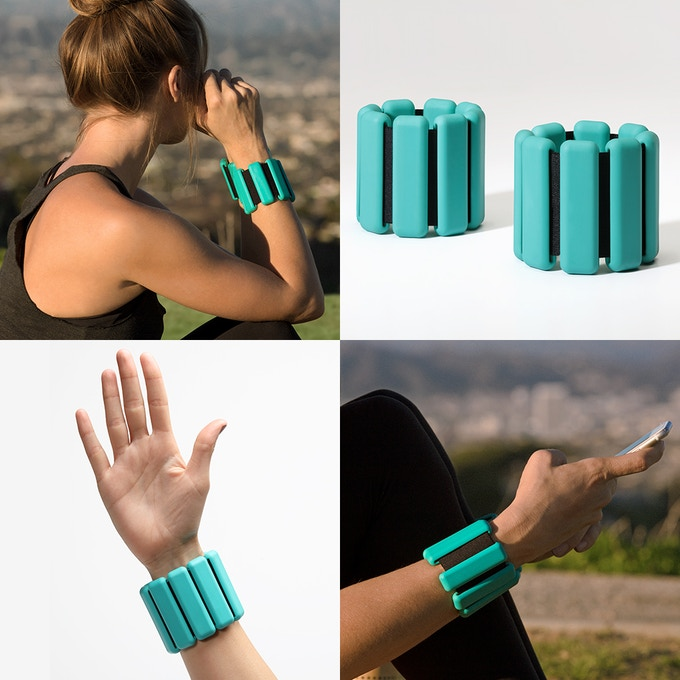 Bala Bangles: Get Strong With Stylish Wearable Weights. By