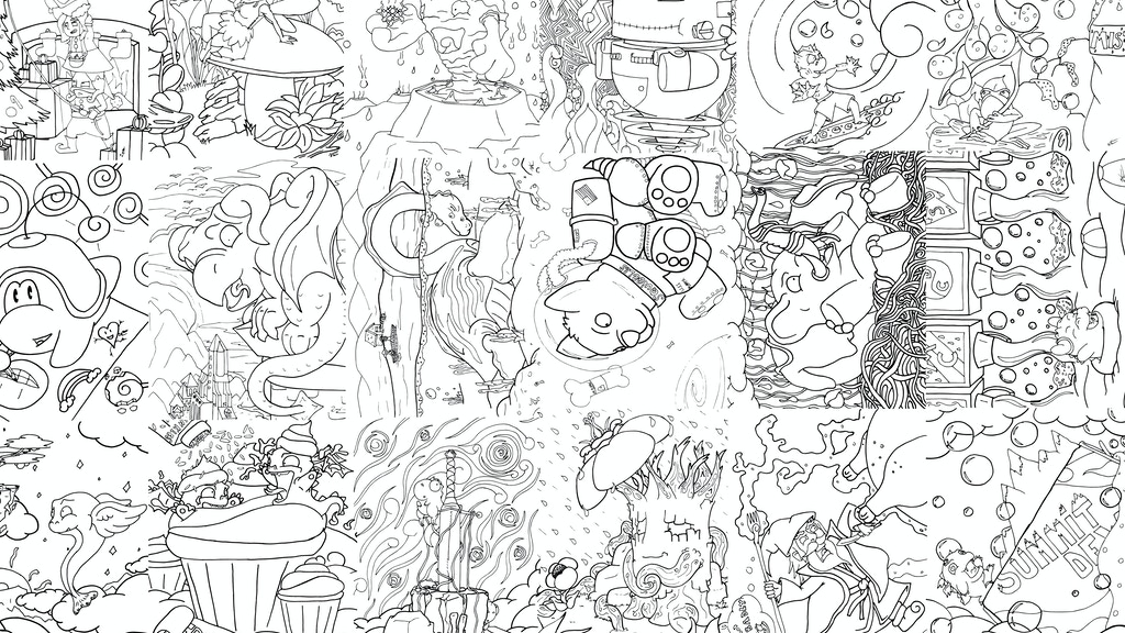 Monsters, Myths and Legends Coloring Book by Wes Thorpe ...