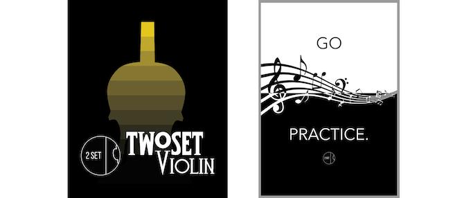 Exclusive Kickstarter T-Shirt & 'Go Practice' Poster