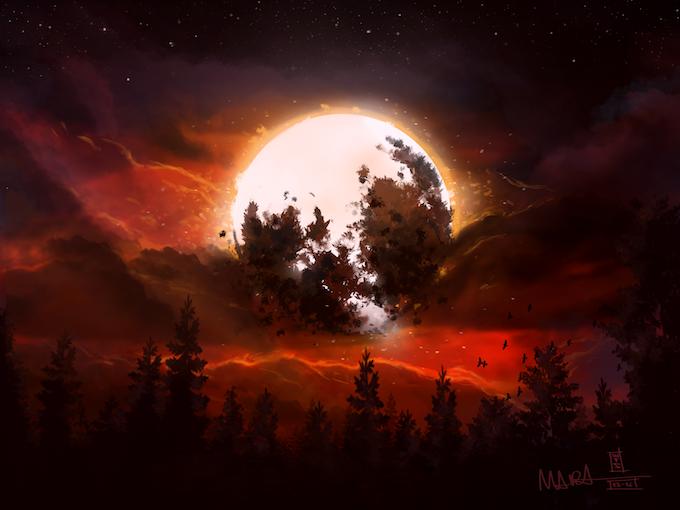 Nightfall by Dario Marzadori