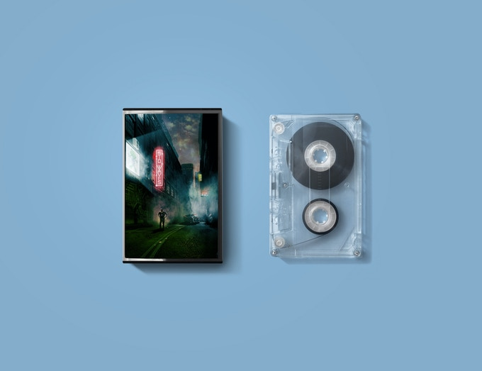 SID Waves Audio Cassette mockup