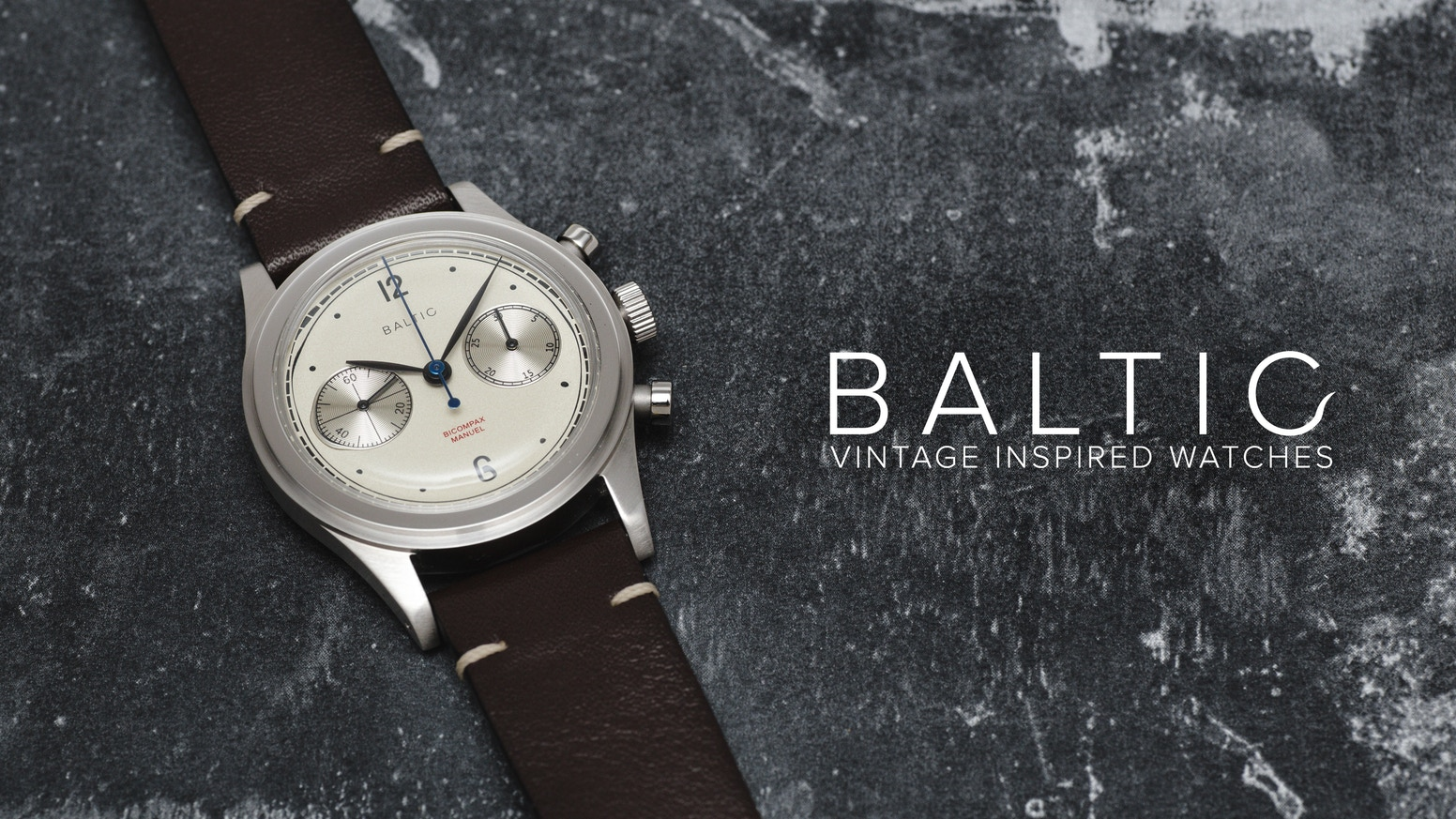 BALTIC is a vintage inspired mechanical watch assembled in France.
