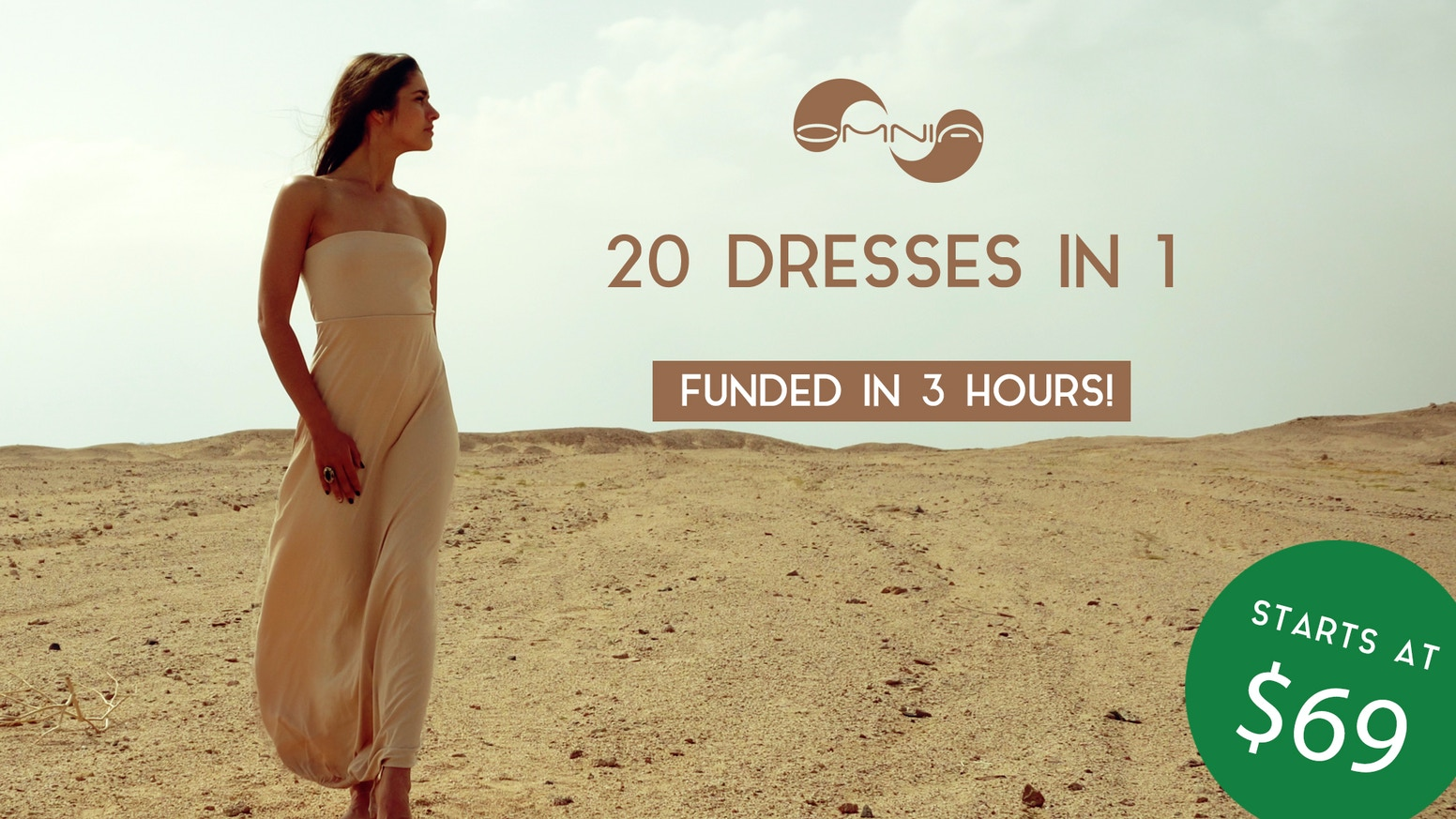 20 practical outfits in 1. Elegant, multifunctional dress for everyday use. High-end innovation for active women!