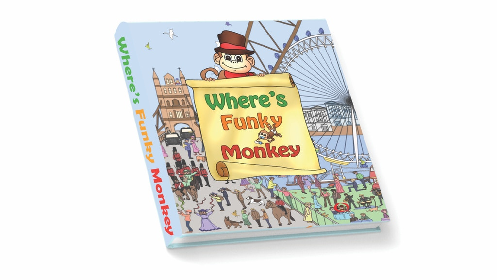 Where's Funky Monkey: An Exciting Adventure Children's Book project video thumbnail