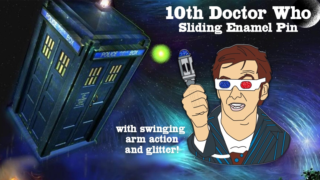 10th Doctor Pin