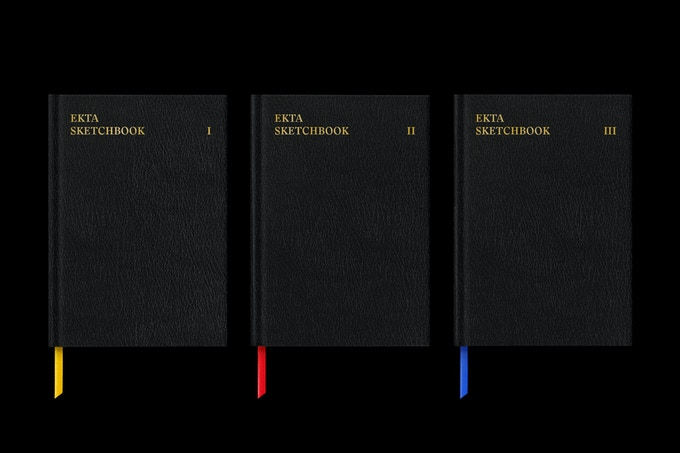 Ekta Sketchbooks Volume I-III