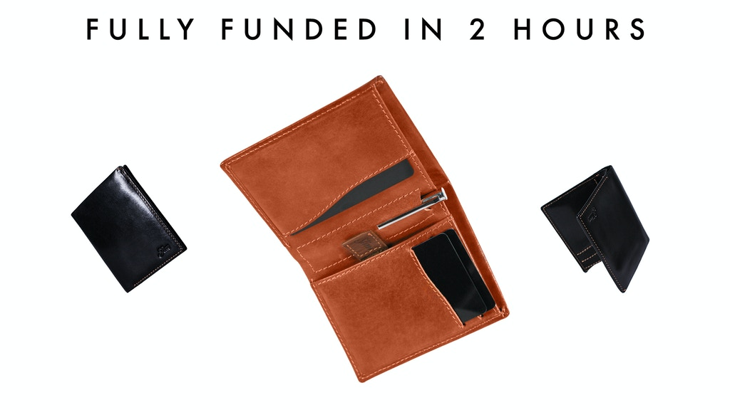 Slim Edition: The Slimmest Classic Bifold Wallet now Slimmer project video thumbnail