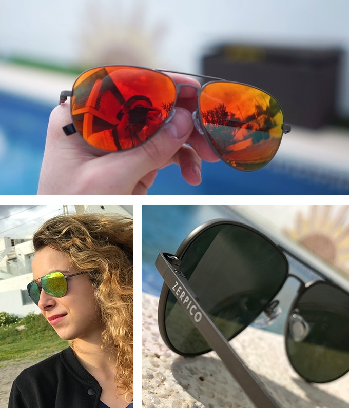 These badass aviators goes with everything. Class and elegance in perfect symbiosis