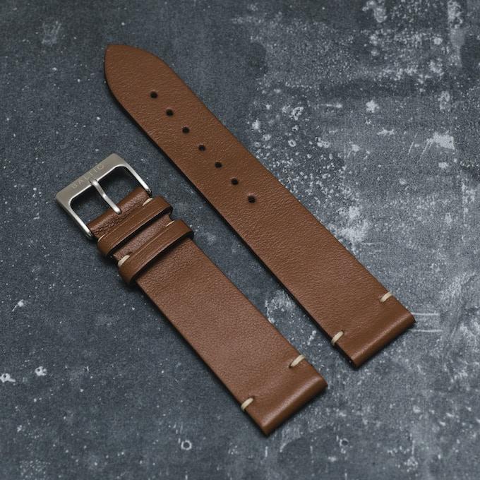 Light brown - Italian Calf Leather