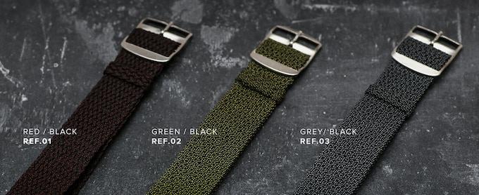 3 colors of Perlon