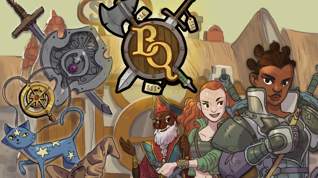 Bargain Quest! A Fast and Fun Item Shop Board Game! project video thumbnail