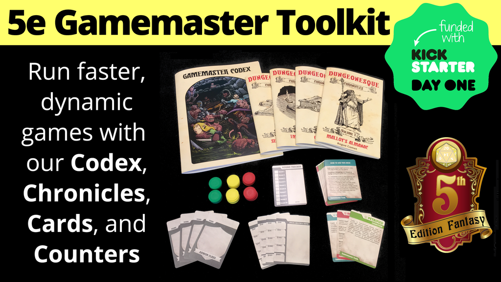 5e Gamemaster Toolkit project video thumbnail