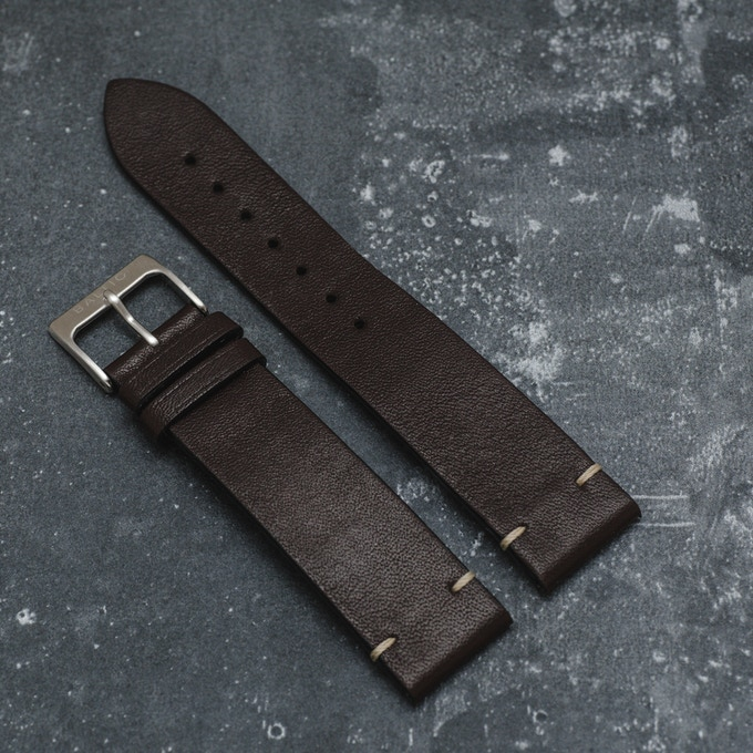 Dark Brown - Italian Calf Leather
