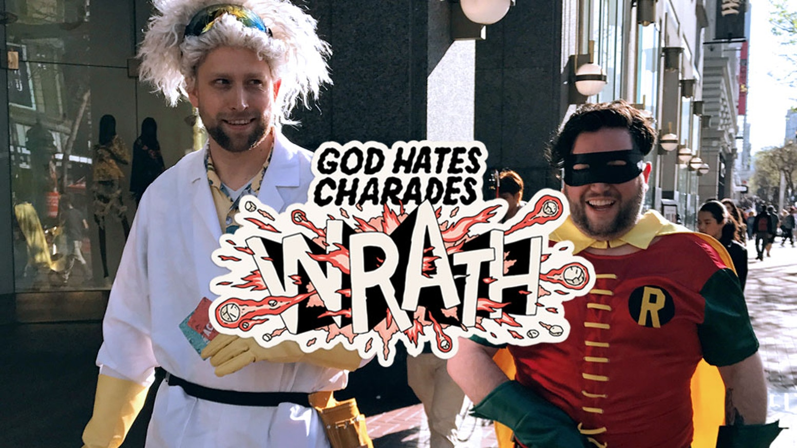 Wrath is the stand-alone sequel to God Hates Charades, a pop culture party game! New jokes. Cheaper Price. Even more hyperbolic. SAD!