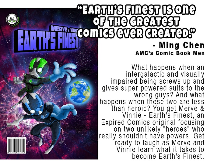 Earth's Finest #1 by Expired Comics