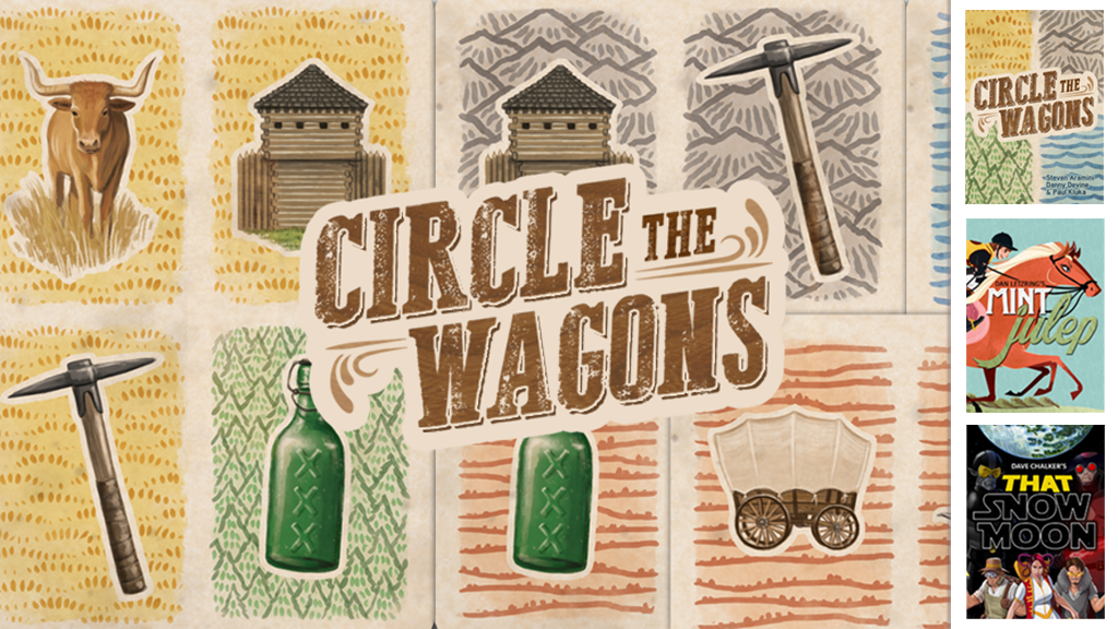 Circle The Wagons - Build your pocket-sized boomtown! project video thumbnail