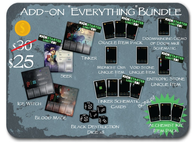 Want everything Glyph has to offer? This EVERYTHING bundle gives you all the add-ons, at a discounted price.