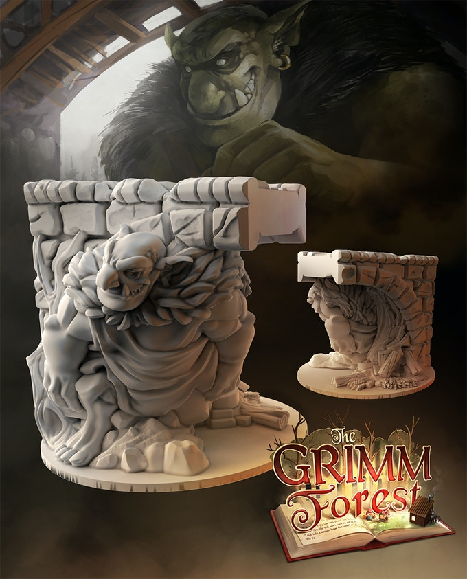 The Grimm Forest By Druid City Games Kickstarter