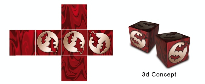 Leagues of Gothic Horror Ubiquity Dice