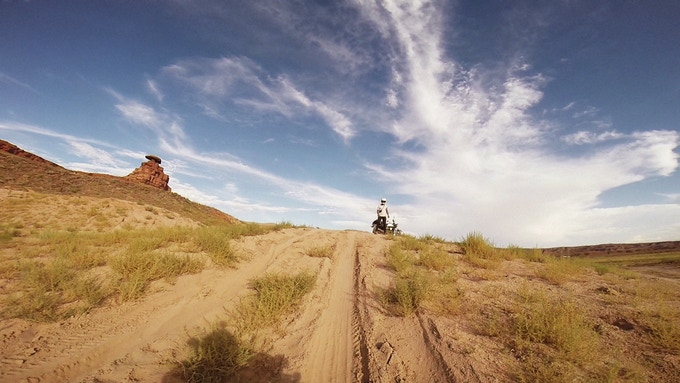 Go-Pro footage of Robert getting stuck in sand dunes....for the 14th time!