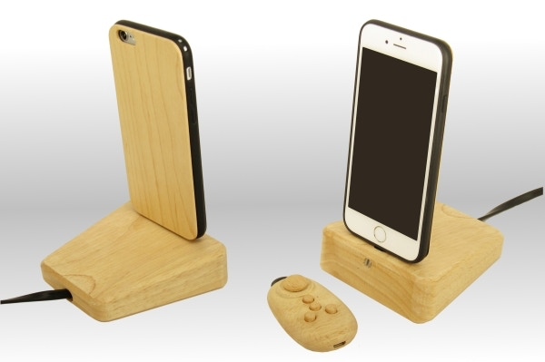 Our docking stand is just what you need for your desk or bedside table