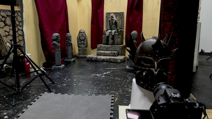 Our smaller sets will need to be redone for the film, both for the look and to accomodate some of the practical effects.