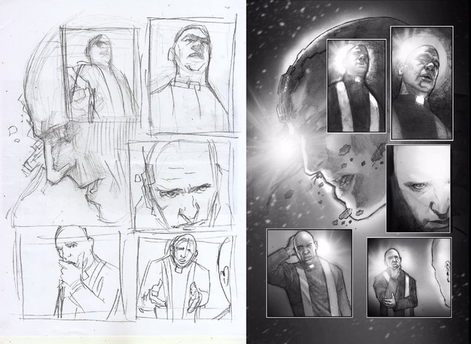 1st Page Finished for Issue #3 Pencils Erwin Arroza