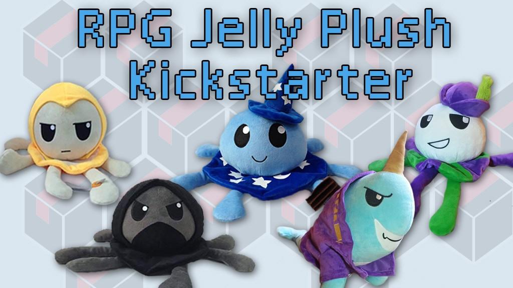 RPG Jelly Plush Kickstarter project video thumbnail