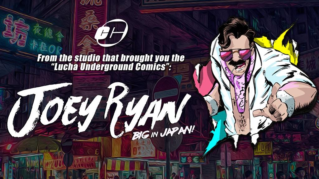 Joey Ryan: Big in Japan! Comic project video thumbnail