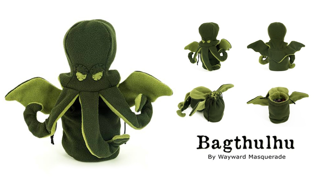 Bagthulhu - The diabolically adorable Cthulhu Dicebag project video thumbnail