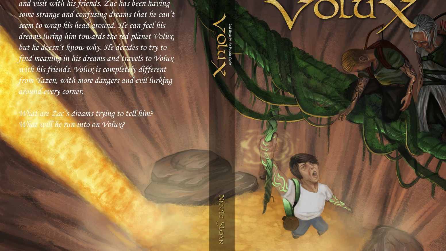 Volux: 2nd book in the Ponith Series by Nicole Sloan — Kickstarter