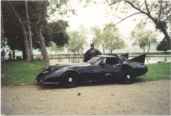 Batman and his Batmobile
