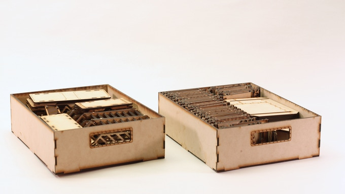 The Deluxe Storage Boxes - fits the whole set.