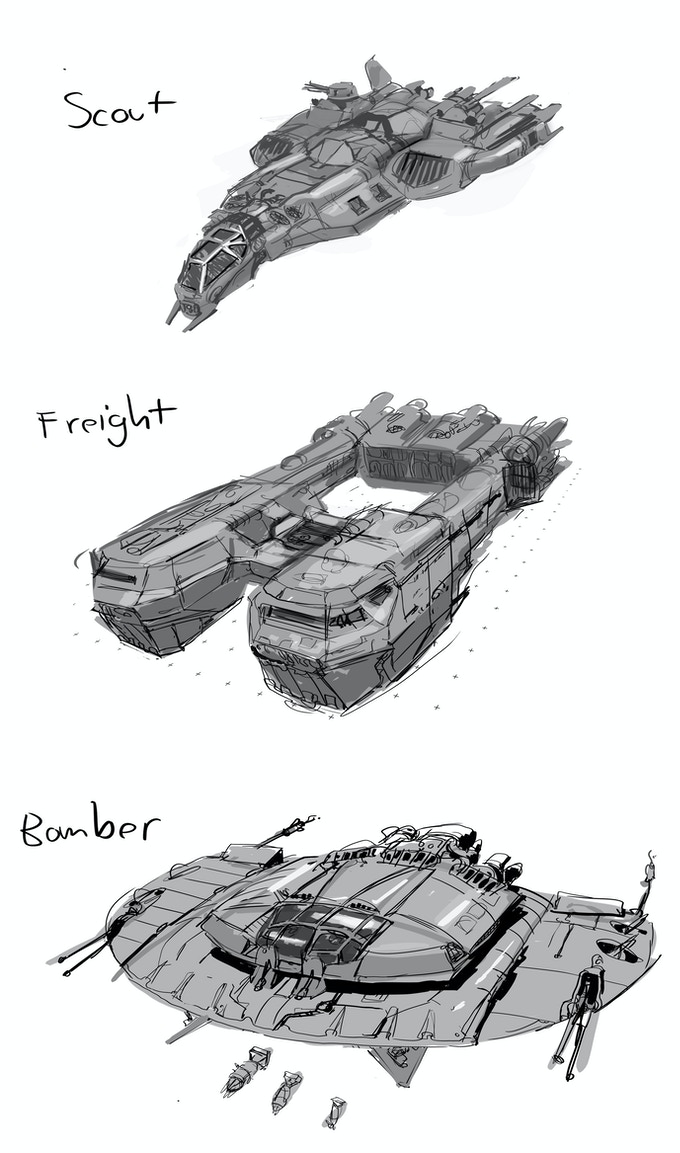 Concept ships that might be your ride!