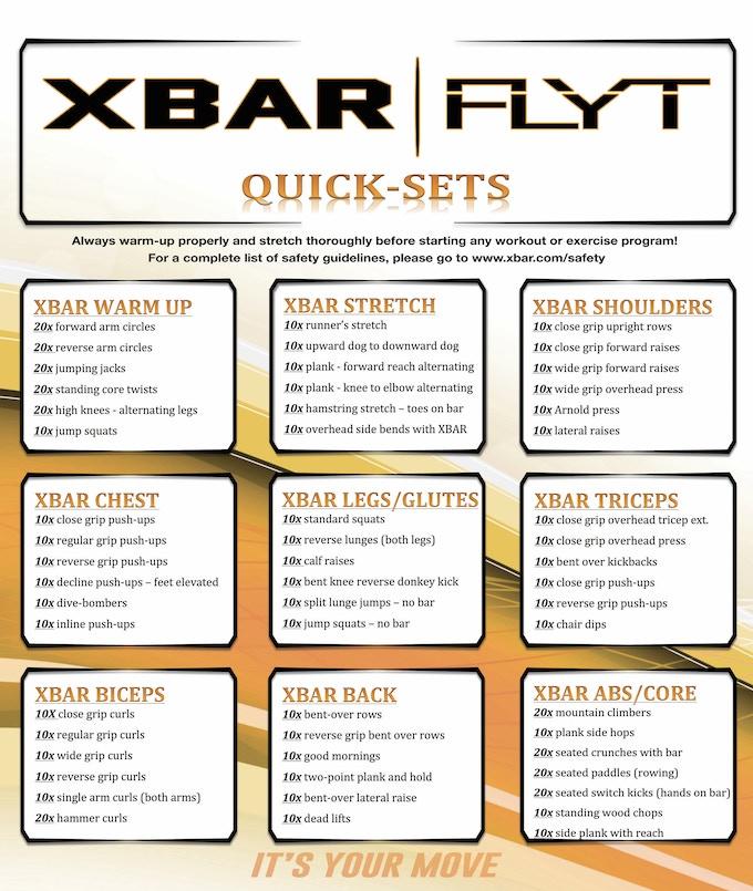 XBAR | FLYT Quick Sets