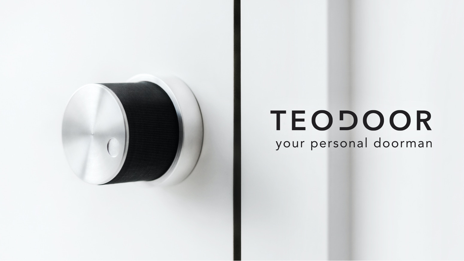 Teodoor is a reliable and secure Bluetooth operated smart lock. It fits perfectly on the inside of your door lock in seconds.