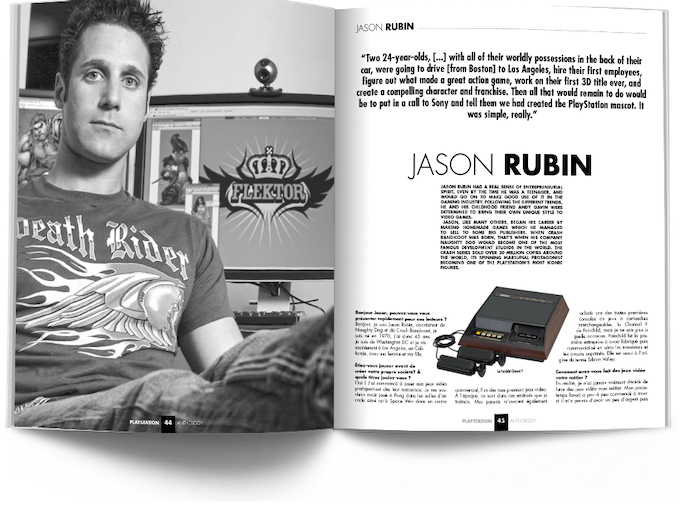 Interview With Jason Rubin (Naughty Dog)