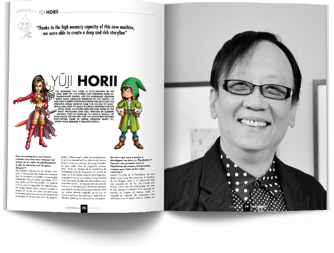 Interview With Yūji Horii (Dragon Quest - Enix)