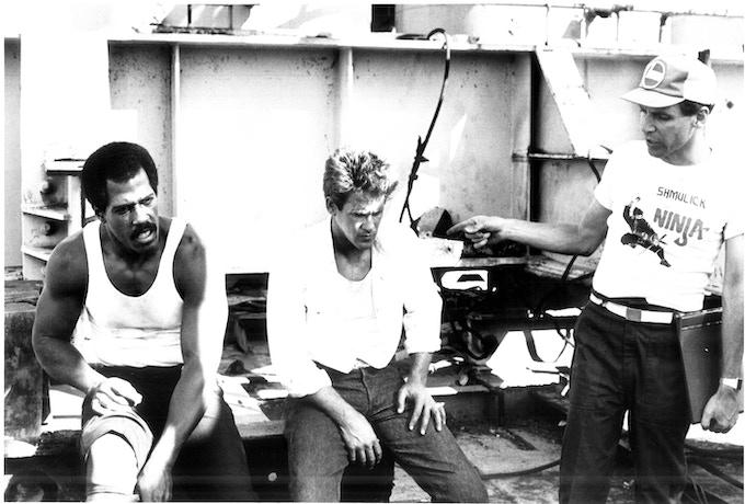 "Steve James, Michael Dudikoff & Sam Firstenberg (Behind The Scenes of ""Avenging Force"")"