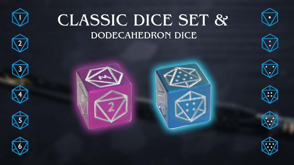 Classic Dice Set project video thumbnail