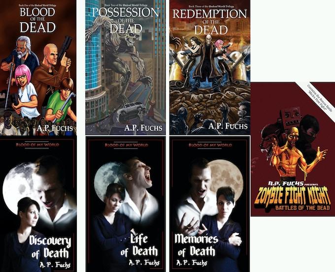 A.P. Fuchs Monster novels bundle