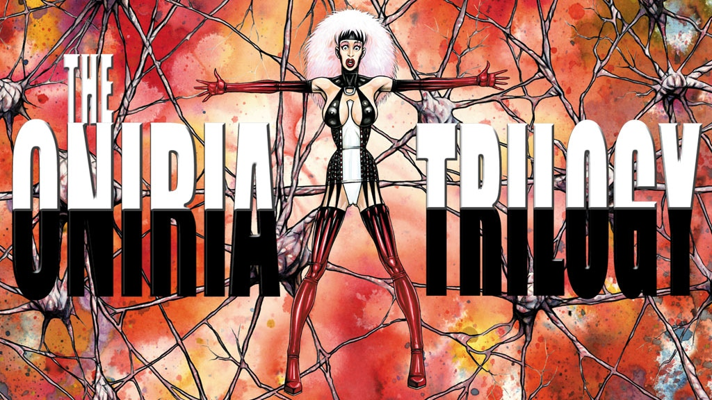 Project image for The ONIRIA Trilogy. A comic-book fantasy saga.