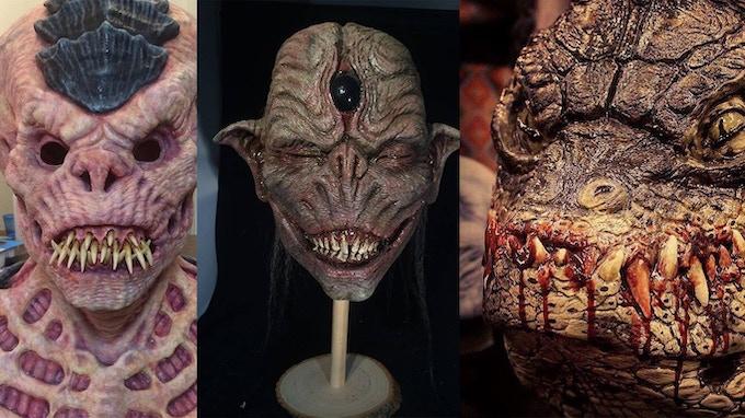 various prosthetics made by Thomas Cassidy