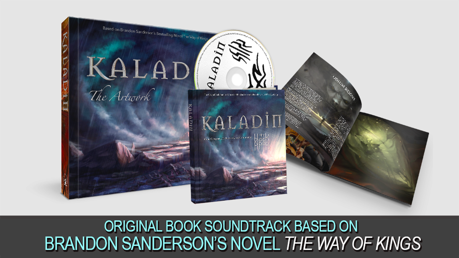 Kaladin: a Stormlight Archive Album + Art Book by The Black Piper ...