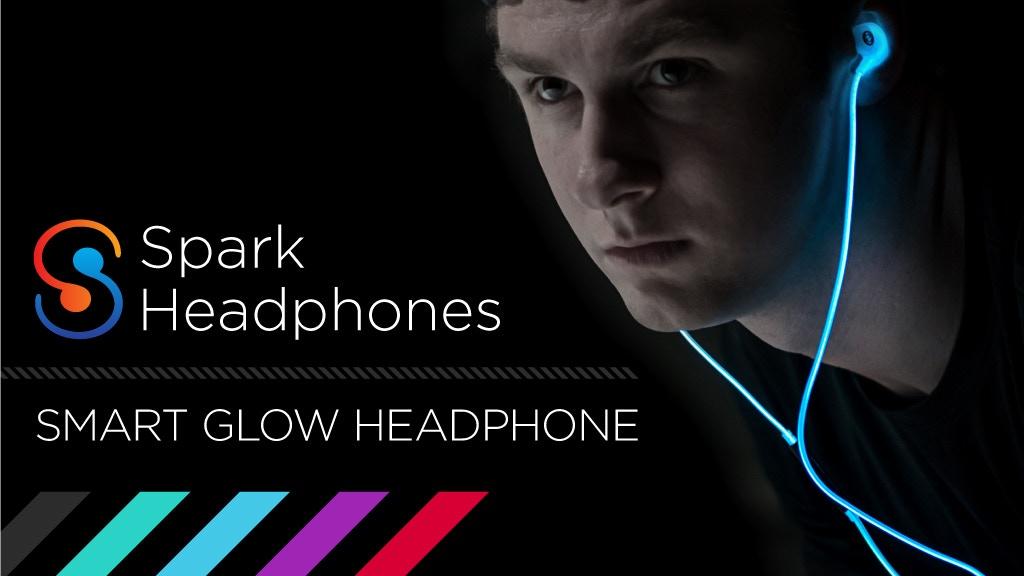 Spark Headphones : Smart Glow Headphones project video thumbnail