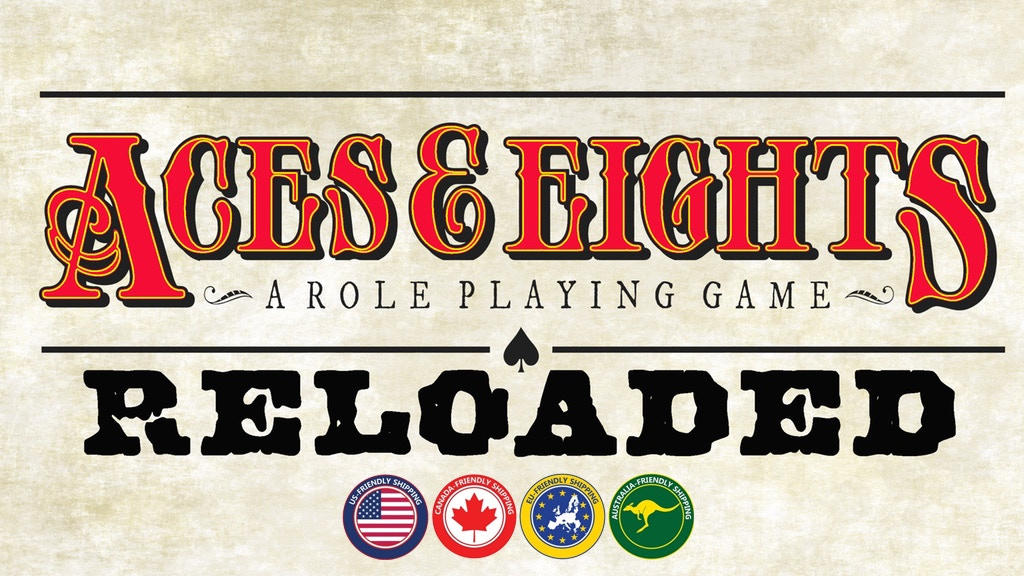 Aces & Eights: Reloaded, a Wild West role playing game project video thumbnail
