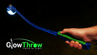 GlowThrow - Never lose your ball again while playing fetch!